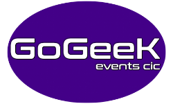 Go Geek Events Logo